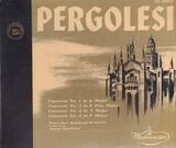 Concertos Nr 1,3,4,5 - Pergolesi
