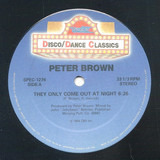 They Only Come Out At Night / Lucky Number / Love Train - Peter Brown , Lene Lovich , The O'Jays
