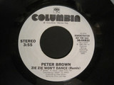 Zie Zie Won't Dance - Peter Brown