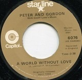 A World Without Love / Nobody I Know - Peter & Gordon with Geoff Love & His Orchestra