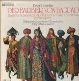 Der Barbier von Bagdad, Erich Leinsdorf, London - Peter Cornelius