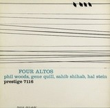 Four Altos - Phil Woods / Gene Quill / Sahib Shihab / Hal Stein