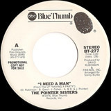 I Need A Man - Pointer Sisters