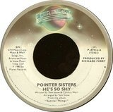 He's So Shy / Movin' On - Pointer Sisters