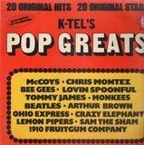 K-Tel's Pop Greats - McCoys, Chris Montez, Bee Gees a.o