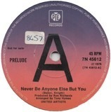 Never Be Anyone Else But You - Prelude