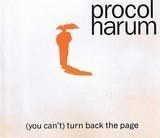 (You Can't) Turn Back The Page - Procol Harum