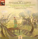 Madame Butterfly - Großer Querschnitt in italienischer Sprache - Puccini/ Santini, Mario Sereni, Orch. e Coro del Teatro dell 'Opera di Roma