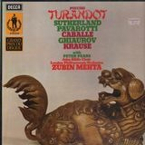 Turandot (Sutherland, Pavarotti, Mehta) - Puccini