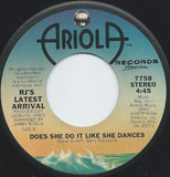 Does She Do It Like She Dances - R.J.'s Latest Arrival