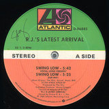 Swing Low - R.J.'s Latest Arrival