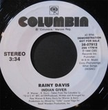 Indian Giver - Rainy Davis
