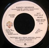 The Story Of A Rock And Roll Band - Randy Newman