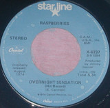 Overnight Sensation (Hit Record) / I'm A Rocker - Raspberries