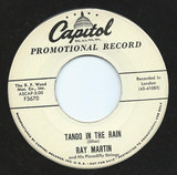 Tango In the Rain - Ray Martin And His Piccadilly Strings