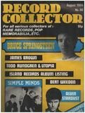 No.60 / AUG. 1984 - Bruce Springsteen - Record Collector