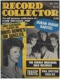 No.63 / NOV. 1984 - David Bowie - Record Collector