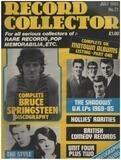 No.71 / JUL. 1985 - Bruce Springsteen - Record Collector