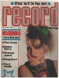 MAY 19 / 1984 - Madonna - Record Mirror