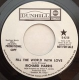 Fill The World With Love - Richard Harris