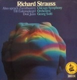 Sir George Solti Conducts The Richard Strauss Album - Richard Strauss - Georg Solti , The Chicago Symphony Orchestra