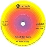 McArthur Park / The Yard Went On Forever - Richard Harris
