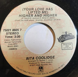 (Your Love Has Lifted Me) Higher And Higher / We're All Alone - Rita Coolidge