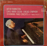 Piano Concerto In A Minor, Op. 54 / Novelettes, Op. 21, No. 1 & 2 - Schumann - Rubinstein & Chicago Symphony (Giulini)