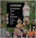 Davidsbündler Tänze Op. 6 / Three Romances Op.28 - Robert Schumann , Walter Klien