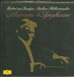4 Symphonien, Karajan, Berliner Philharmoniker - Robert Schumann