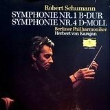 Symphonie Nr.1 B-Dur - Symphonie Nr.4 D-Moll (Karajan) - Schumann