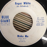 Wake Me / Our Divorce - Roger White and His Bluebirds
