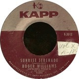 Sunrise Serenade / Cool Water - Roger Williams