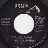 The Last Farewell / Paradise - Roger Whittaker