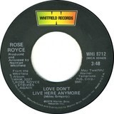 Love Don't Live Here Anymore / That's What's Wrong With Me (Edit) - Rose Royce