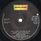 Is It Love You're After - Rose Royce