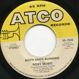 Love Is The Drug / Both Ends Burning - Roxy Music