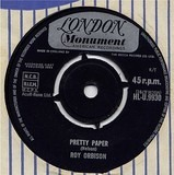 Pretty Paper /  Summersong - Roy Orbison