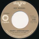 Happy Anniversary / Lovenworth - Roy Rogers