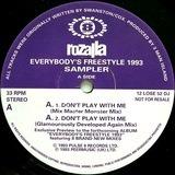 Everybody's Freestyle 1993 - Sampler - Rozalla