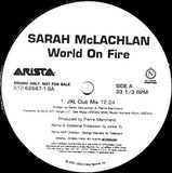 World On Fire - Sarah McLachlan