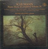Piano Music (Complete) Volume IV - Schumann - Peter Frankl