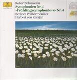 Symphonien Nr.1, Nr.4 - Schumann - Berliner Philh. (Karajan)
