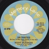 San Francisco (Be Sure To Wear Flowers In Your Hair) / Like An Old Time Movie - Scott McKenzie