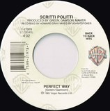 Perfect Way / Wood Beez (Pray Like Aretha Franklin) - Scritti Politti