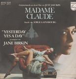 Bande Originale Du Film De Just Jaeckin 'Madame Claude' - Serge Gainsbourg