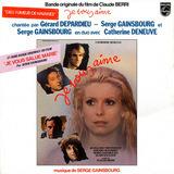 Bande Originale Du Film De Claude Berri 'Je Vous Aime' - Serge Gainsbourg