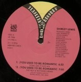 (You Used To Be) Romantic - Shirley Lewis