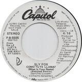 Como Tu Te Llama? (What Is Your Name) - Sly Fox