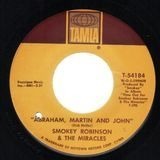 Abraham, Martin And John / Much Better Off - Smokey Robinson And The Miracles